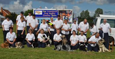 Lowestoft dog agility